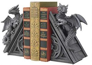 Design Toscano Castle Dragon Gothic Bookends